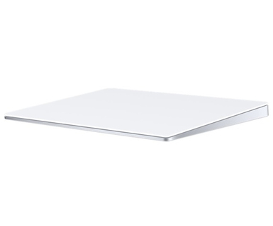 Apple Apple Magic Trackpad 2 Bluetooth sans fil Argent, Blanc pavé tactile