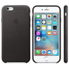 Apple Apple Coque en cuir iPhone 6s - Noir