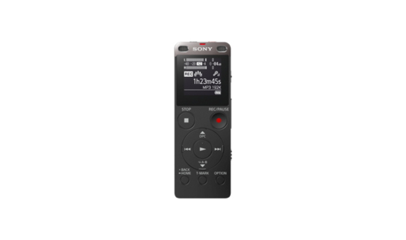 Sony Dictaphone ICD-UX560 (Voice recorder) Noir