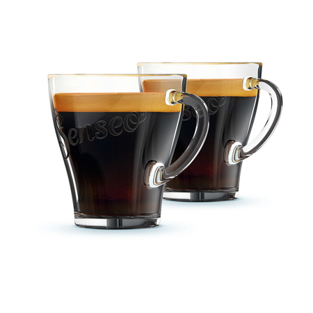 Philips Tasses à cafe en verre *2 - Philips Senseo - 18 cl