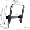 Vogels WALL 3215 Support TV - Mur