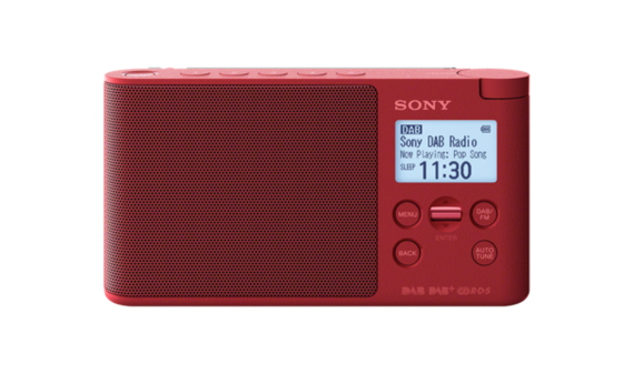 Sony XDR-S41D DAB+ Radio - Rouge