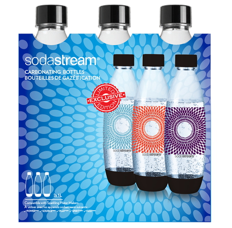 Sodastream Tri-Pack bouteilles Fuse Fireworks 1 L