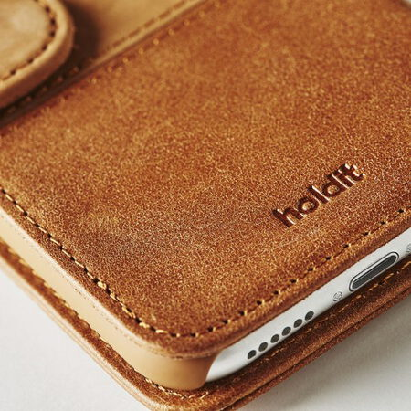 Holdit Wallet pour iPhone 6S+/7+/8+ - Brun