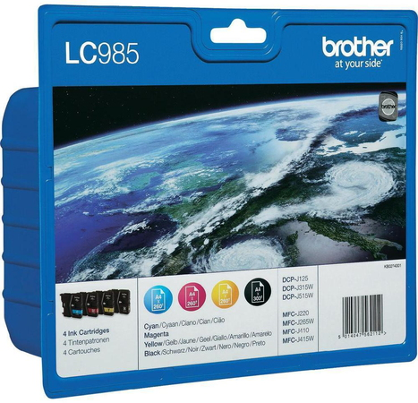 Brother LC-985 4-couleurs Value Pack