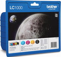 Brother LC-1000 4-couleurs Value Pack