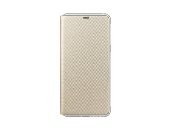 Samsung Neon Flip Cover pour Galaxy A8 - Or