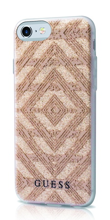 Guess Backcover Aztec pour iPhone 7 - Beige