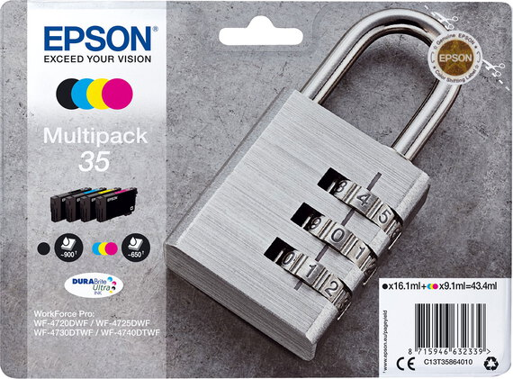 Epson T35 4-couleurs Multipack