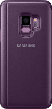 Samsung Clear View Standing Cover pour Galaxy S9 - Mauve