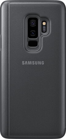 Samsung Clear View Standing Cover pour Galaxy S9+ - Noir