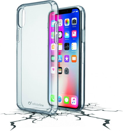 Cellular Line Backcover Clear Duo pour iPhone X