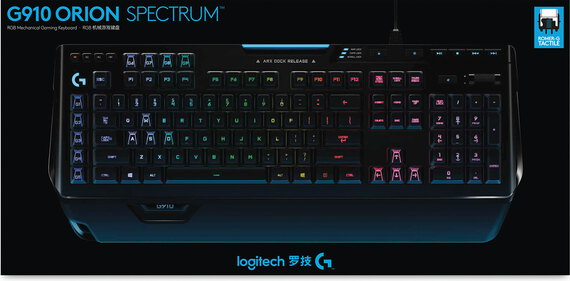 Logitech G910 Orion Spectrum clavier mécanique RVB