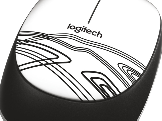 Logitech M105 WIRED MOUSE WHITE