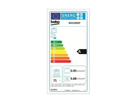 Beko Four encastrable BIE22300X