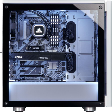 Corsair Carbide Series™ 275R Blanc - CC-9011133-WW