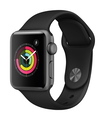 Apple Watch Series 3 38mm Gris sidéral/Noir (S/M)