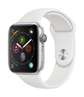 Apple Watch Series 4 44mm Argent/Blanc (S/L)