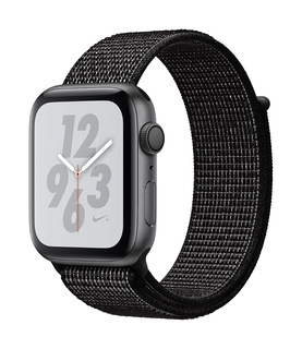 Apple Watch Nike + Series 4 44mm Gris sidéral/Noir (S/L)