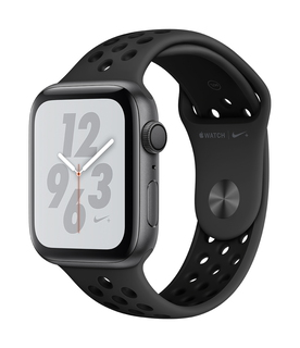 Apple Watch Nike+ Series 4 44mm Gris sidéral/Noir (S/L)