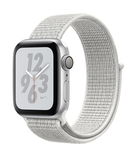 Apple Watch Nike+ Series 4 40mm Argent/Blanc (S/L)