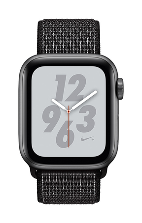Apple Watch Nike+ Series 4 40mm Gris sidéral/Noir (S/L)