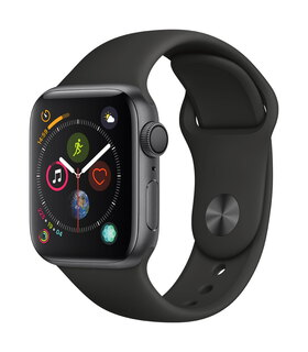 Apple Watch Series 4 40mm Gris sidéral/Noir (S/L)