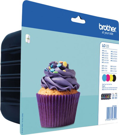 Brother Multipack LC123VALBP CMYK