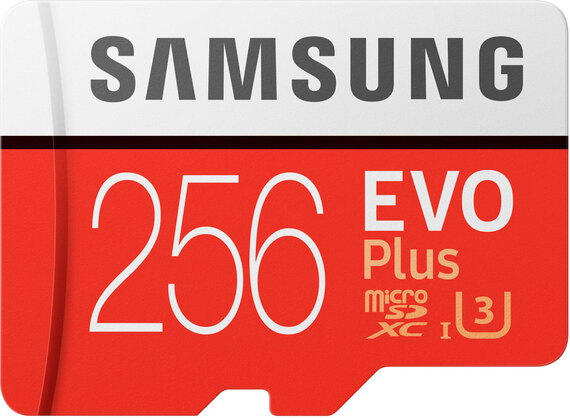 EVO Plus micro SDXC MB-MC256GA/EU - 256 Go
