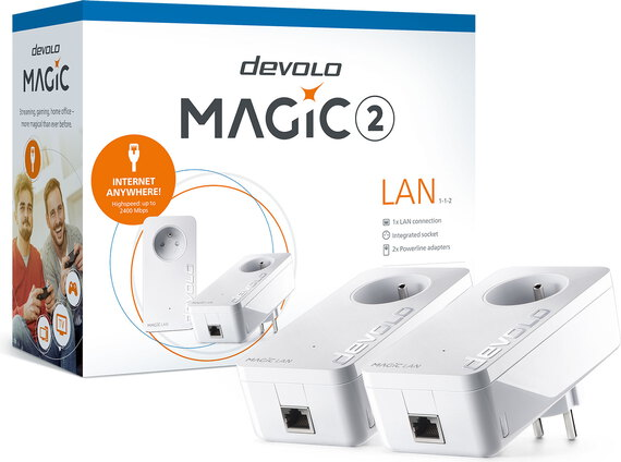 Devolo Kit de démarrage Magic 2 LAN - DEV-8264