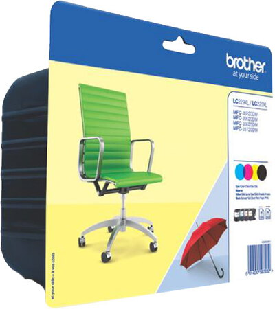Brother Value Pack LC229XL - CMYK