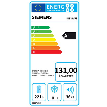 Siemens Frigo encastrable KI24RV52