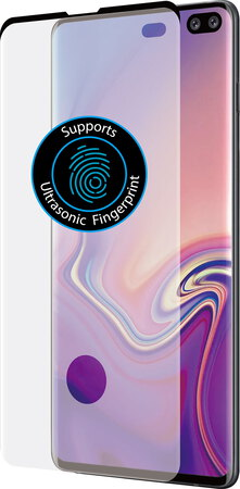 Azuri Curved Tempered Glass RINOX ARMOR pour Galaxy S10+