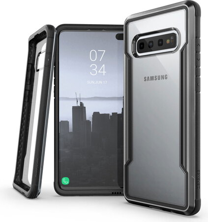 X-Doria Defense Shield pour Galaxy S10+ - Noir