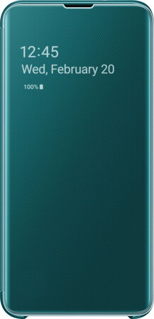 Samsung Clear View cover pour Galaxy S10e - Vert