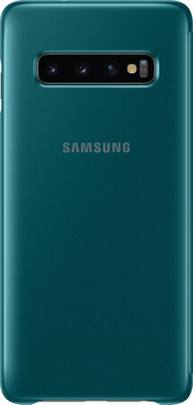 Samsung Clear View cover pour Galaxy S10 - Vert