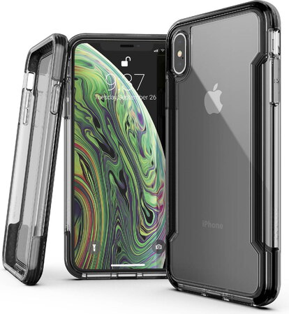 X-Doria Defense Clear pour iPhone Xs Max - Noir