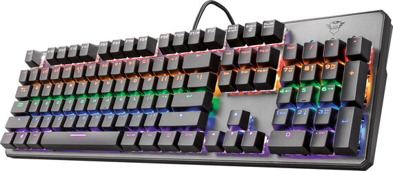 Trust Clavier gaming mécanique Asta GXT 865