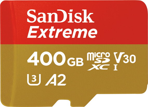 Sandisk Extreme® micro SDXC A2 - 400 Go