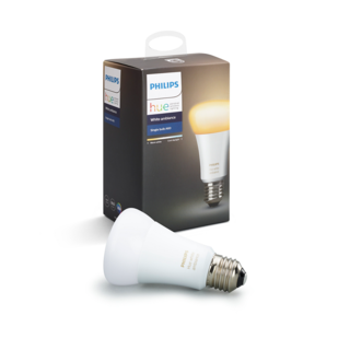 PHILIPS HUE Ampoule individuelle E27 - White ambiance 8718696548738