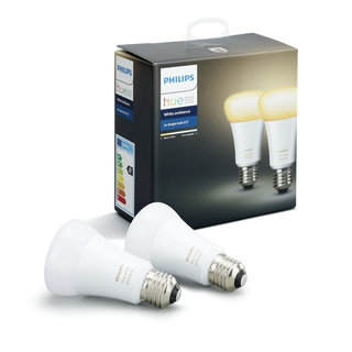 PHILIPS HUE Ampoule E27 duopack - White ambiance 8718696729083