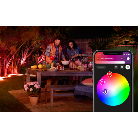 PHILIPS HUE Lightstrip extérieur 5m - White and color ambiance 8718696804650
