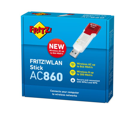 AVM FRITZ FRITZ!WLAN Stick AC 860 International