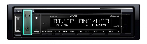 JVC AUTORADIO CD BLUETOOTH KDT801BT