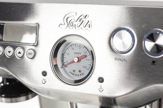 Solis Machine à Expresso automatique Barista Triple Heat