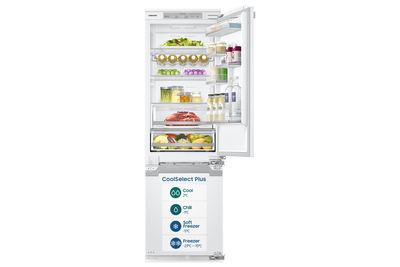 Samsung combi frigo congélateur encastrable BRB260178WW/EF CoolSelect Plus