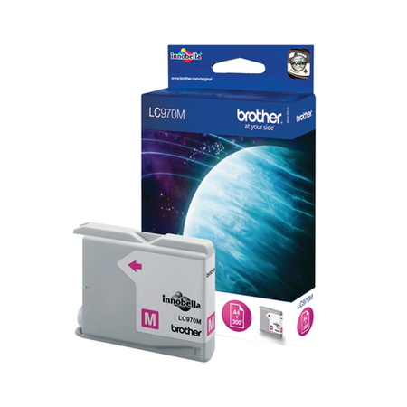 Brother Cartouches d'encre Magenta LC970M