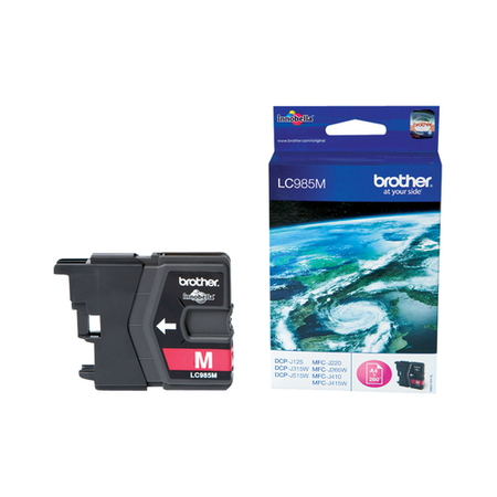Brother Cartouches d'encre Magenta LC985M