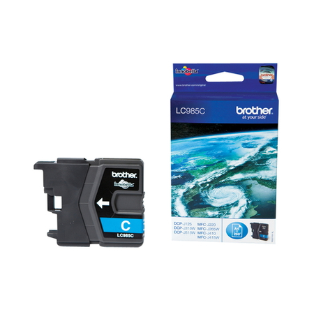 Brother Cartouches d'encre Cyan LC985C