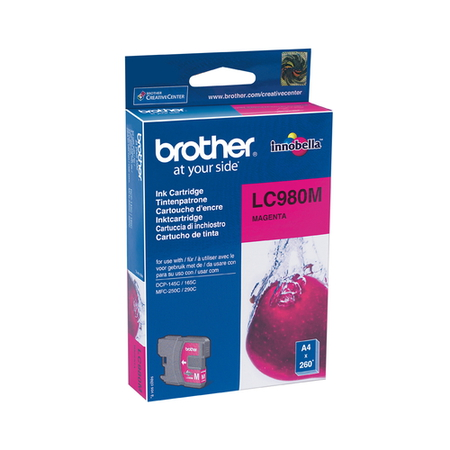 Brother Cartouches d'encre Magenta LC-980M